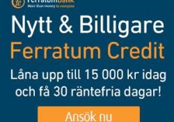Lån snabbt hos Ferratum Credit lån utan uc med betalningsanmärkning